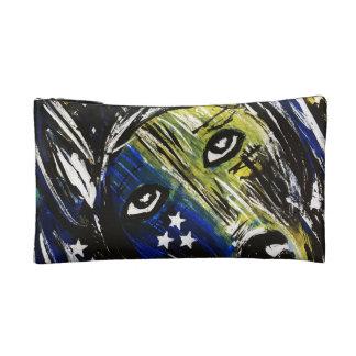 Dog Themed Cosmetic Bag/Wristlet Makeup Bag