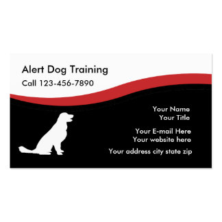 Dog Tng Business Cards