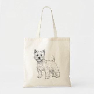 Dog Tote Bag - West Highland Terrier