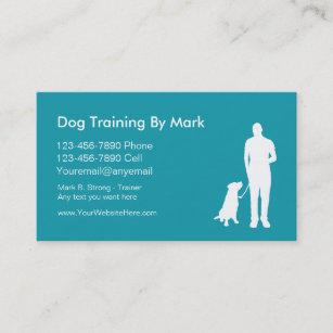 Dog trainer business cards zazzle au dog trainer business cards colourmoves