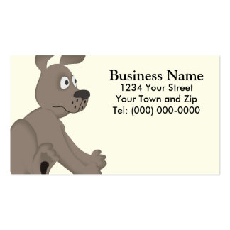 Dog Trainer Groomer Business + Appointment Business Card Templates