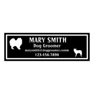 Dog Trainer Walker Groomer Vet Business Cards