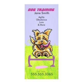 Dog Trainer Wheaten Terrier Pet Business Marketing Customised Rack Card