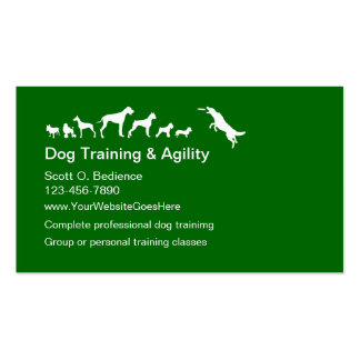 Dog Training And Agility Business Cards Business Cards