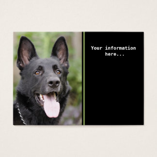 Dog training business card