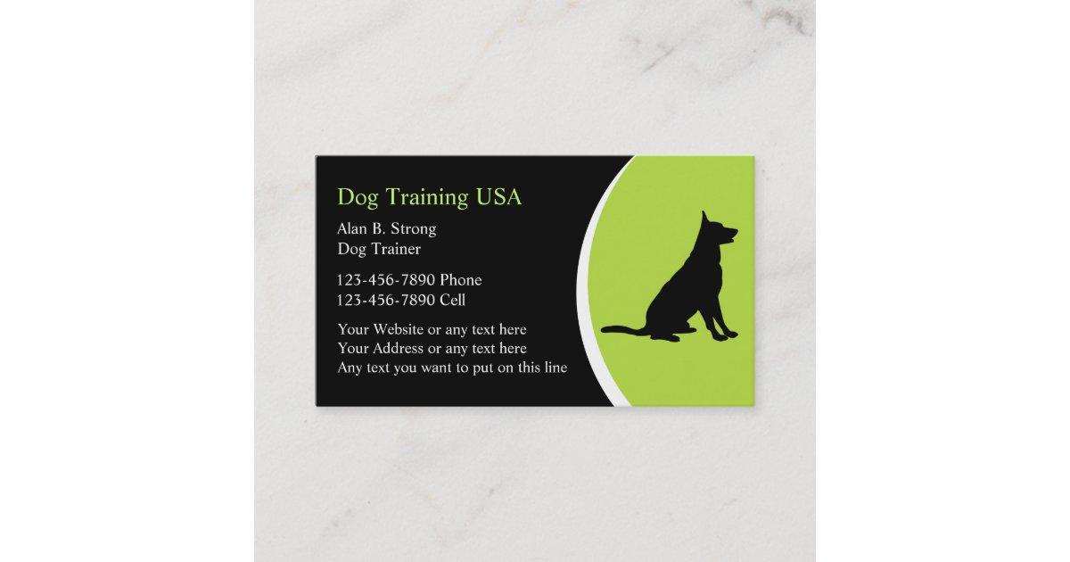 Dog Training Business Cards   Zazzle.com.au