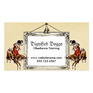 Dog Training Trainer Obedience Business Card