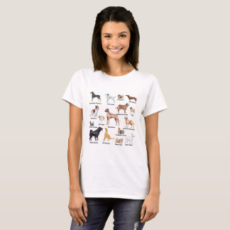 Dog Types T-Shirt