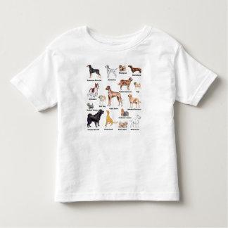 Dog Types Toddler T-Shirt