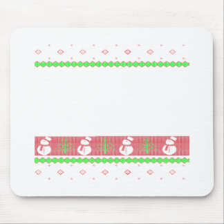 Dog Ulgy Christmas Mouse Pad
