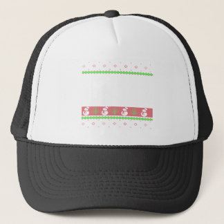 Dog Ulgy Christmas Trucker Hat