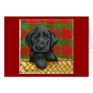 Dog Valentine card