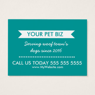 Dog Walker Business Card - Personalizable