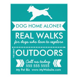Dog Walker Flyer Good