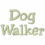 Dog Walker Personalised Fleece Zip Hoodie
