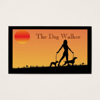 Dog Walker/ Pet Sitter  Business Card
