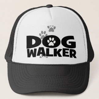 Dog walker promotional trucker hat