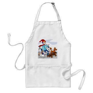 Dog walker standard apron