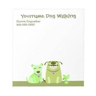 Dog Walker's Notepad