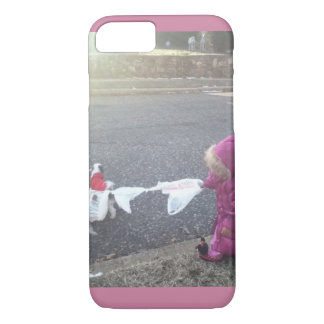 Dog Walkin' iPhone 8/7 Case