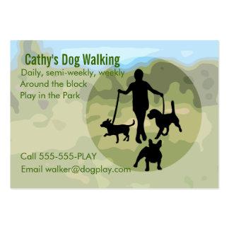 Dog Walking Business Card Template