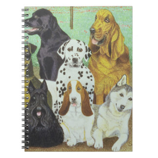 Dog Watch Spiral Notebook