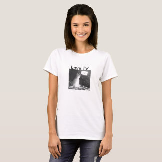 Dog watching TV T-Shirt