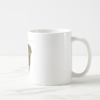 Dog watercolor soft heart is a strong heart coffee mug