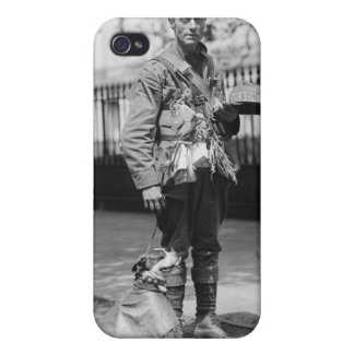 Dog Wearing a Coat, 1920s iPhone 4 Covers