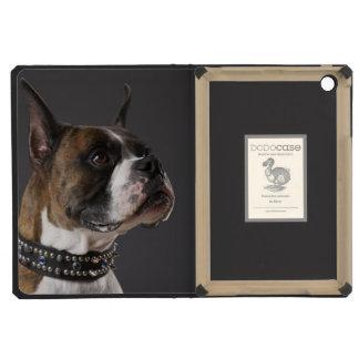 Dog wearing collar, looking away iPad mini retina cases