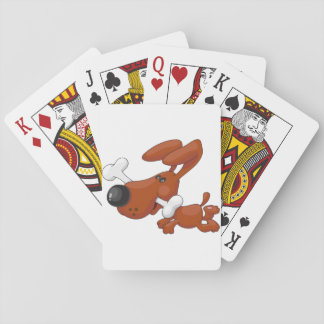 Dog With A Bone Playing Cards
