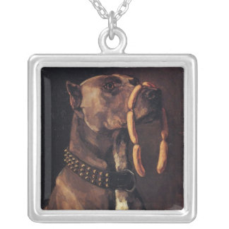 Dog with Sausages Necklaces