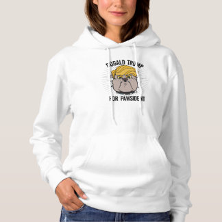 Dogald Trump for Pawsident - Cartoon - Election 20 Hoodie
