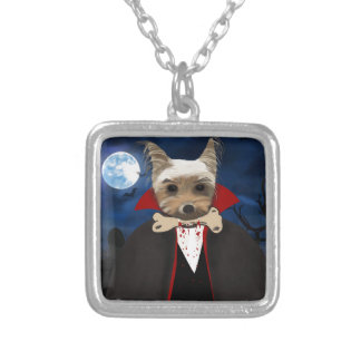Dogcula Silver Plated Necklace