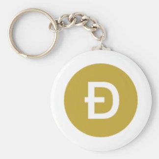 """DOGE 2.25"""" Basic Button Keychain"""