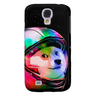 Doge astronaut-colorful dog - doge-shibe-doge dog galaxy s4 covers