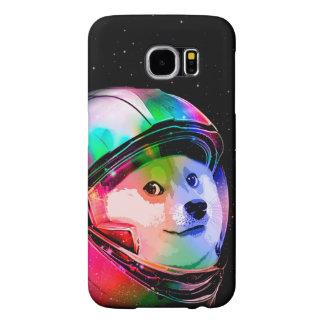 Doge astronaut-colorful dog - doge-shibe-doge dog samsung galaxy s6 cases
