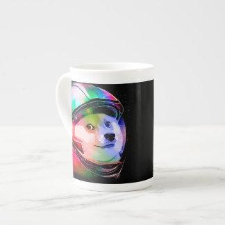 Doge astronaut-colorful dog - doge-shibe-doge dog tea cup