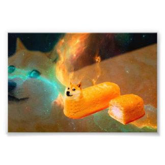 Doge bread - doge-shibe-doge dog-cute doge photo print