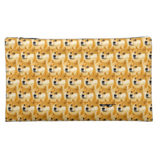 Doge cartoon - doge texture - shibe - doge cosmetic bag