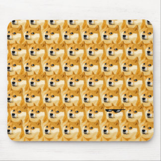 Doge cartoon - doge texture - shibe - doge mouse pad
