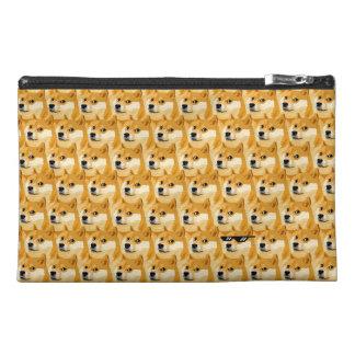 Doge cartoon - doge texture - shibe - doge travel accessory bag