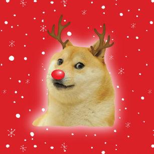 Dog Christmas Meme.Dog Meme Cards Zazzle Au