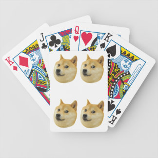 """Doge """"Four of a Kind"""" Playing Cards"""