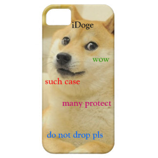 Doge iphone case iPhone 5 Case-Mate hoesjes