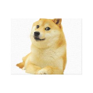 doge meme - doge-shibe-doge dog-cute doge canvas print
