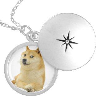 doge meme - doge-shibe-doge dog-cute doge locket necklace
