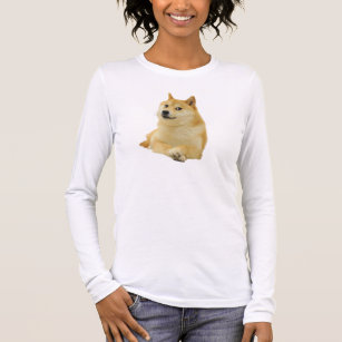 doge meme - doge-shibe-doge dog-cute doge long sleeve T-Shirt