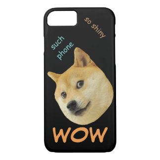 Doge phone wow iPhone 7 case