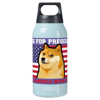 Doge president - doge-shibe-doge dog-cute doge insulated water bottle